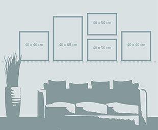 kuvakollaasi sein llesi ifolor. Black Bedroom Furniture Sets. Home Design Ideas