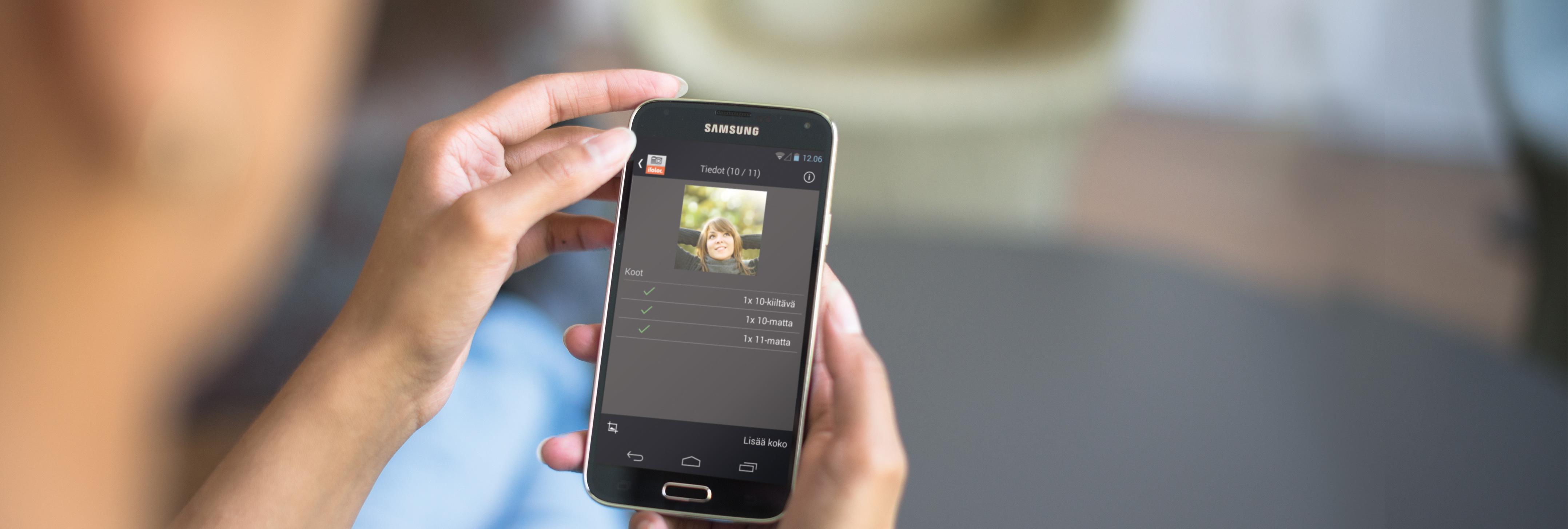 Tammen sähköinen kuvakirja AppStoreen ja Android Marketiin
